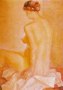 Salvador Dali - Study of Nude
