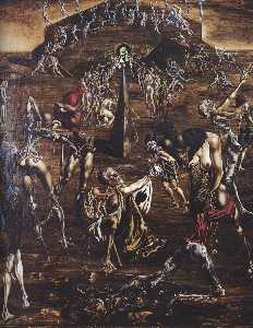 Salvador Dali - Resurrection of the Flesh