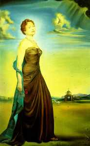 Salvador Dali - Portrait of Mrs. Reeves