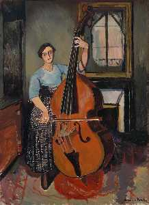 Suzanne Valadon - Woman with a Double Bass