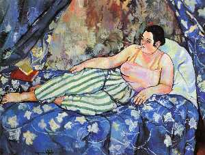 Suzanne Valadon - The Blue Room