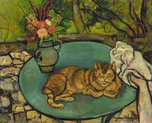 Suzanne Valadon - Raminou and pitcher with ..