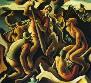 Thomas Hart Benton - First Chapter. The Americ..