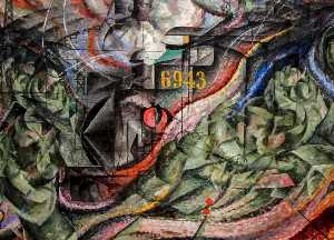 Umberto Boccioni - States of Mind I: The Farewells