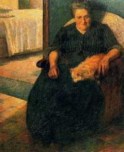 Umberto Boccioni - The Signora Virginia