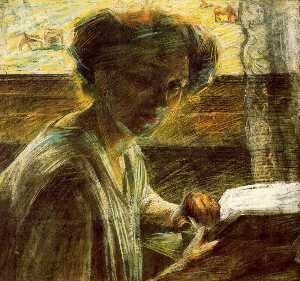Umberto Boccioni - Portrait of a Young Woman