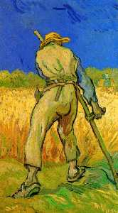 Vincent Van Gogh - The Reaper after Millet