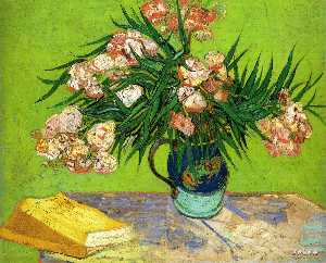 Vincent Van Gogh - Oleanders and Books