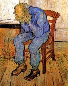 Vincent Van Gogh - Old Man in Sorrow (On the Threshold of Eternity)