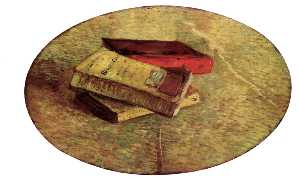 Vincent Van Gogh - Still Life with Three Books