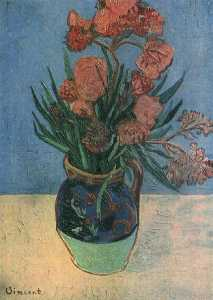 Vincent Van Gogh - Still Life Vase with Oleanders