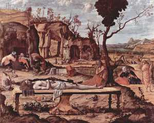 Vittore Carpaccio - Lamentation of Christ