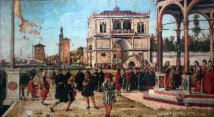 Vittore Carpaccio - The Repatriation of the English Ambassadors