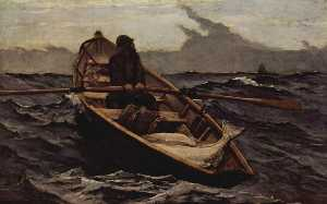 Winslow Homer - Nebelwarnung (The Fog Warning)