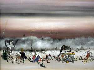 Yves Tanguy - The Ribbon of Excess