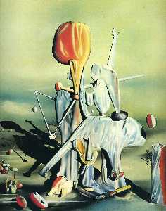 Yves Tanguy - Through Birds Through Fir..