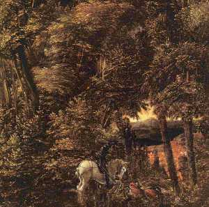 Albrecht Altdorfer - Saint George in the Fores..