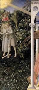 Fra Angelico - The Annunciation (detail)