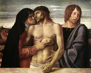 Giovanni Bellini - Dead Christ Supported by ..