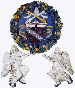Benedetto Buglioni - Coat-of Arms Supported by..