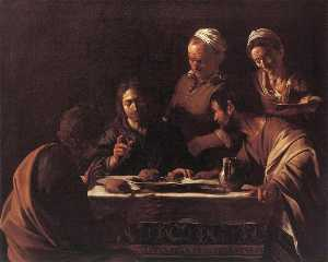 Caravaggio (Michelangelo .. - Supper at Emmaus