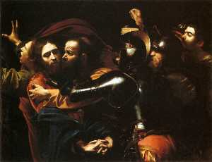 Caravaggio (Michelangelo Merisi) - Taking of Christ