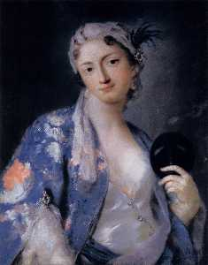 Rosalba Carriera - Portrait of Felicita Sartori
