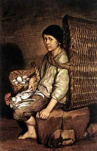 Giacomo Ceruti (Pitocchetto) - Boy with a Basket