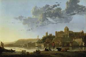 Aelbert Jacobsz Cuyp - The Valkhof at Nijmegen