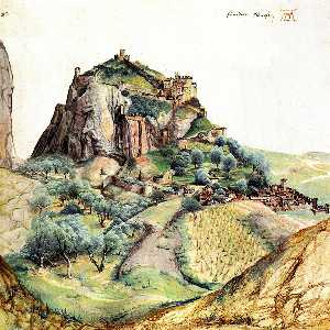 Albrecht Durer - View of the Arco Valley i..