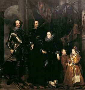 Anthony Van Dyck - The Lomellini Family