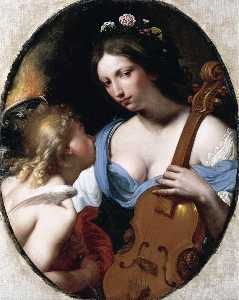 Antonio Franchi - Personification of Music ..
