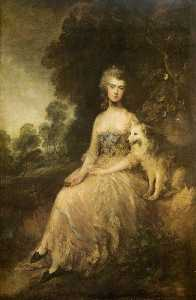 Thomas Gainsborough - Mrs. Mary Robinson (''Per..