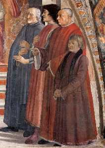 Domenico Ghirlandaio - Confirmation of the Rule ..