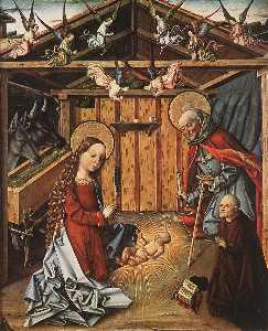Master Of Avila - Nativity