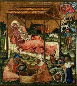 Master Of Hohenfurth - Nativity