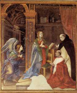 Filippino Lippi - Annunciation