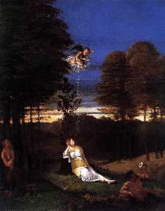 Lorenzo Lotto - Allegory of Chastity (''M..