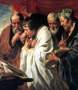 Jacob Jordaens - The Four Evangelists