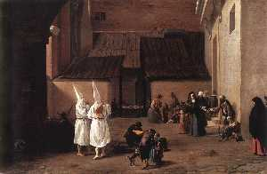 Pieter Boddingh Van Laer - The Flagellants