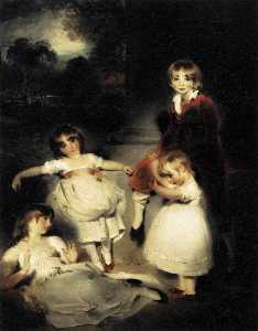 Thomas Lawrence - Portrait of the Children ..