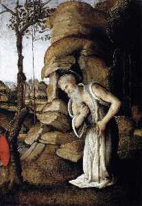 Filippino Lippi - The Penitent St Jerome