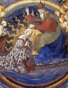 Fra Filippo Lippi - Coronation of the Virgin ..