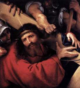 Lorenzo Lotto - Christ Carrying the Cross
