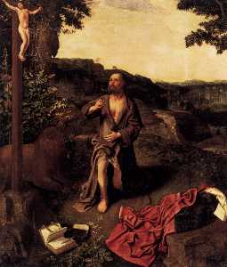 Master Of Saint Gilles - St Jerome