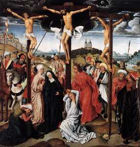 Master Of The Legend Of Saint Catherine - Crucifixion of Christ