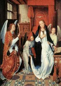 Hans Memling - The Annunciation