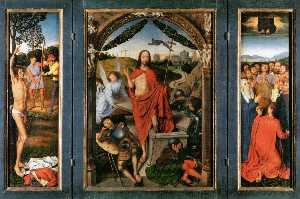 Hans Memling - Triptych of the Resurrection