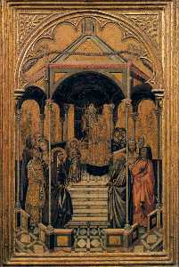 Niccolò Di Buonaccorso - Presentation of the Virgin at ..
