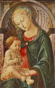 Francesco Di Stefano Pese.. - Madonna with Child